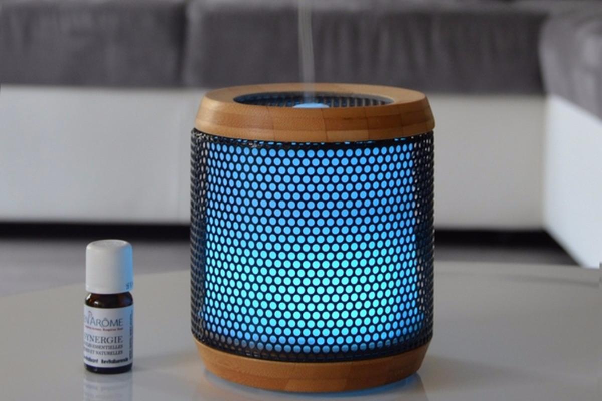 diffuseur d 39 huiles essentielles ultrasonique elipsia. Black Bedroom Furniture Sets. Home Design Ideas