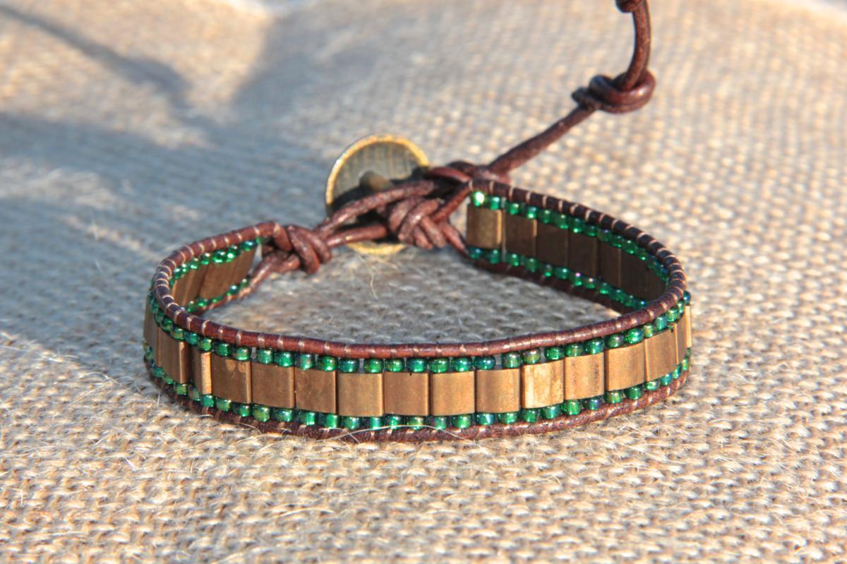 Bracelet wrap vintage 1 tour