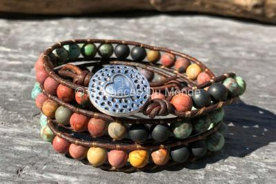 Bracelet gypsy wrap 3 tours