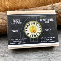 Savon traditionnel musc