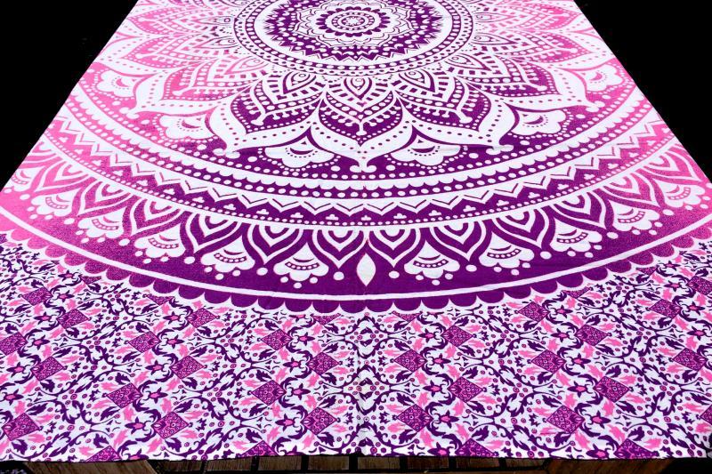 Tissu Mandala Indien Xxl Madurai Tendances Du Monde