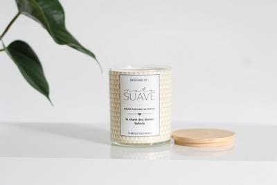bougie cire de soja parfum e sahara tendances du monde. Black Bedroom Furniture Sets. Home Design Ideas