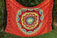 Paréo mandala color