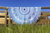 Drap de plage mandala rond Indian