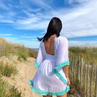 Robe de plage hippie chic