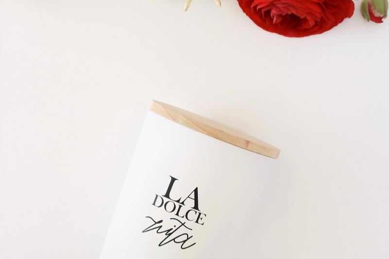 bougie cire de soja parfum e dolce vita tendances du monde. Black Bedroom Furniture Sets. Home Design Ideas